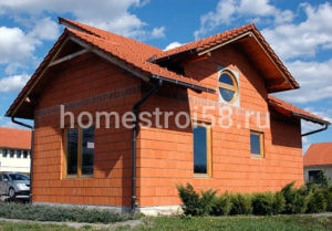 Дом из керамоблока