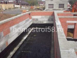 Внутренняя гидроизоляция первого этажа