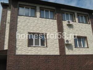Облицовка фасадными панелями