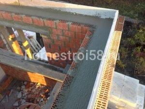 Заливка бетонной стяжки под перектрытия