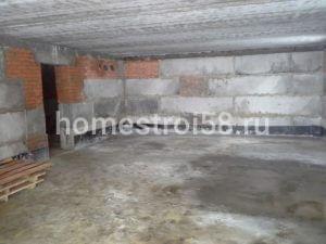 Залитый пол на цокольном этаже